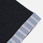 Мужская футболка Maison Kitsune Pen Pocket Anthracite Melange фото- 4
