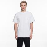 Мужская футболка Maison Kitsune Pen Pocket White фото- 5