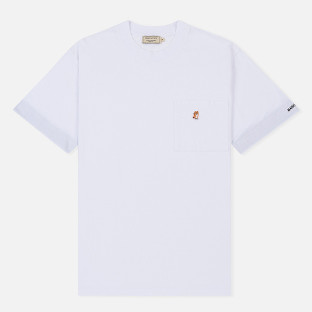 Мужская футболка Maison Kitsune Pen Pocket White