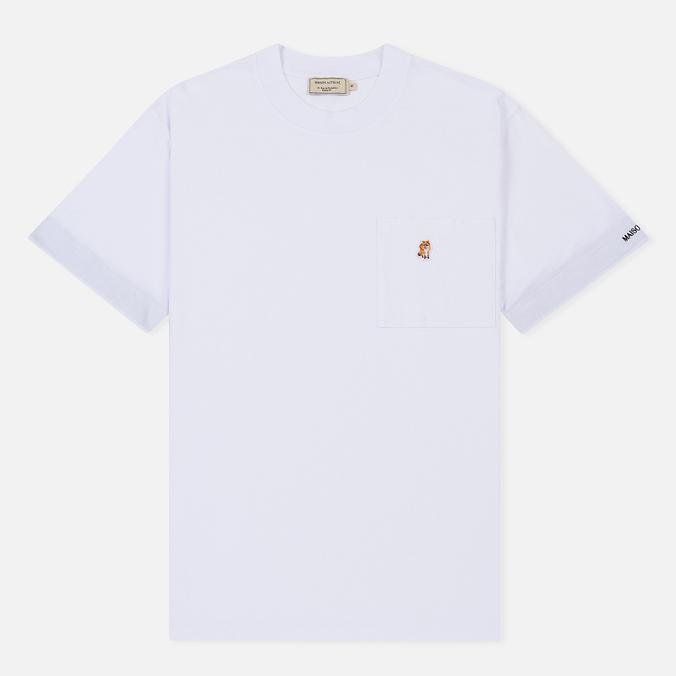 Мужская футболка Maison Kitsune Pen Pocket White