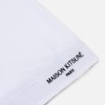 Мужская футболка Maison Kitsune Pen Pocket White фото- 3