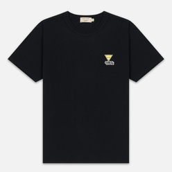 Мужская футболка Maison Kitsune Triangle Fox Patch Black