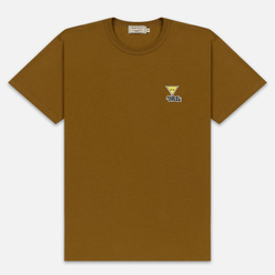 Мужская футболка Maison Kitsune Triangle Fox Patch Camel