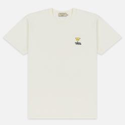 Мужская футболка Maison Kitsune Triangle Fox Patch White