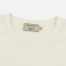 Мужская футболка Maison Kitsune Triangle Fox White фото- 1