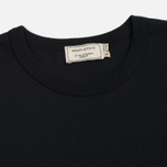 Мужская футболка Maison Kitsune Tricolor Fox Patch Black фото- 1