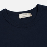 Мужская футболка Maison Kitsune Tricolor Fox Patch Navy фото- 1