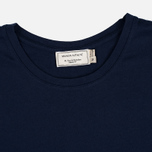 Maison Kitsune Tricolor Fox Patch Men's T-Shirt Navy photo- 1