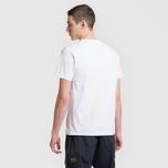 Мужская футболка Maison Kitsune Tricolor Fox Patch White фото- 5