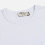 Мужская футболка Maison Kitsune Tricolor Fox Patch White фото- 1