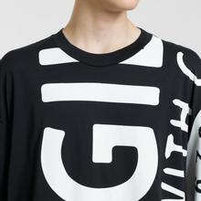 Мужская футболка Maison Margiela All Over Print Fragile Black фото- 3