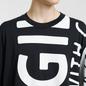 Мужская футболка Maison Margiela All Over Print Fragile Black фото - 3