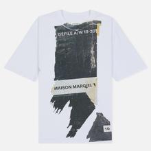 Мужская футболка Maison Margiela Front Defile A/W 19 Print White фото- 0
