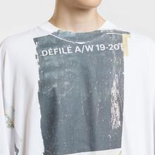 Мужская футболка Maison Margiela Front Defile A/W 19 Print White фото- 3