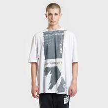 Мужская футболка Maison Margiela Front Defile A/W 19 Print White фото- 1