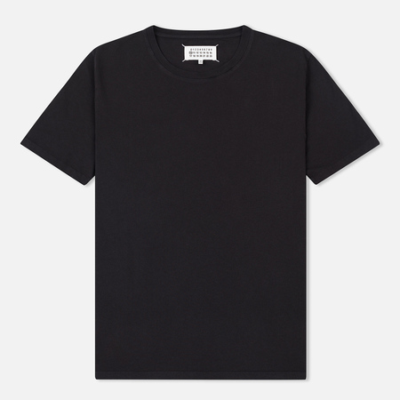 Мужская футболка Maison Margiela Garment Dyed Crew Neck Black