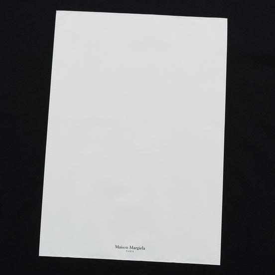 Мужская футболка Maison Margiela Logo Printed Patch Black
