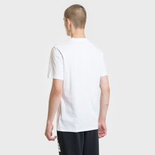 Мужская футболка Maison Margiela Logo Printed Patch White фото- 3