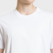 Мужская футболка Maison Margiela Logo Printed Patch White фото- 4