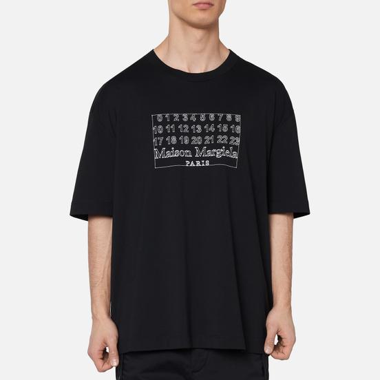 Мужская футболка Maison Margiela Numeric Logo Black