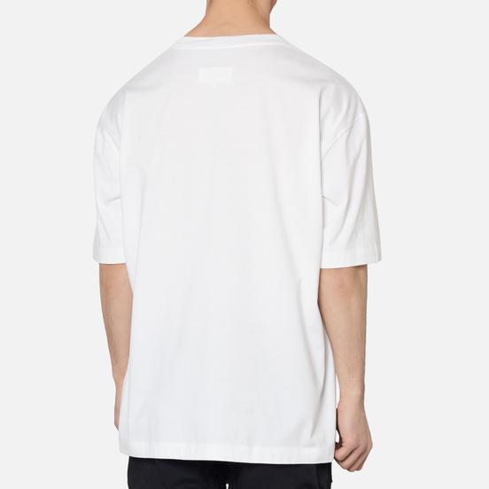Мужская футболка Maison Margiela Numeric Logo White