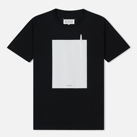 Мужская футболка Maison Margiela Pen Pocket Black
