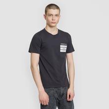 Мужская футболка Maison Margiela Stereotype Patch Black фото- 1