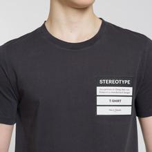 Мужская футболка Maison Margiela Stereotype Patch Black фото- 2