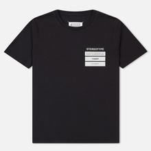 Мужская футболка Maison Margiela Stereotype Patch Black фото- 0