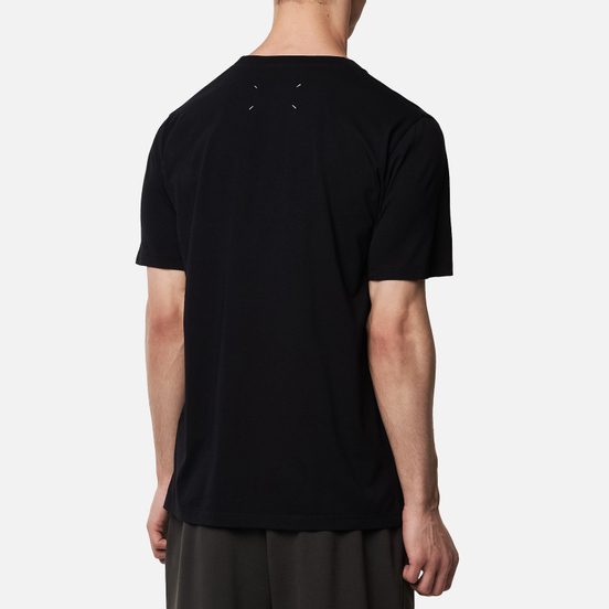 Мужская футболка Maison Margiela Stereotype Patch Black