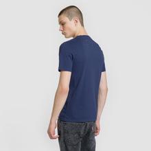 Мужская футболка Maison Margiela Stereotype Patch Ink Blue фото- 3