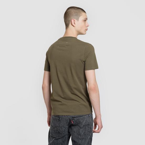 Мужская футболка Maison Margiela Stereotype Patch Olive