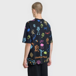Мужская футболка Marcelo Burlon All Over Sketch Over Multicolor/White фото- 3