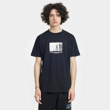Мужская футболка Marcelo Burlon C.E. Aliens Black/Multicolor фото- 1