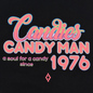 Мужская футболка Marcelo Burlon Candyman Over Black/Multicolor фото - 2