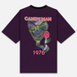 Мужская футболка Marcelo Burlon Candyman Over Black/Multicolor фото - 3