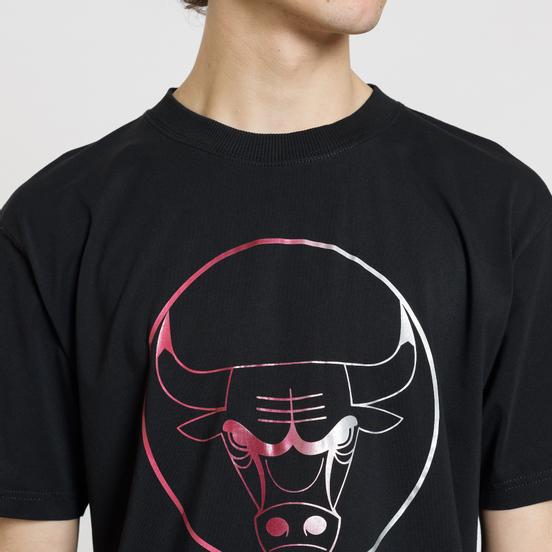 Мужская футболка Marcelo Burlon Chicago Bulls Logo Black/Multicolor