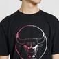 Мужская футболка Marcelo Burlon Chicago Bulls Logo Black/Multicolor фото - 2