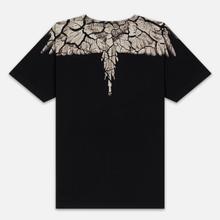 Мужская футболка Marcelo Burlon Earth Wings Black/Brown фото- 2