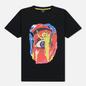Мужская футболка Marcelo Burlon Eye Black/Multicolor фото - 0
