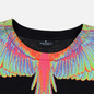 Мужская футболка Marcelo Burlon Fluo Wings Black/Light Blue фото - 1