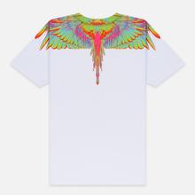 Мужская футболка Marcelo Burlon Fluo Wings White/Light Blue фото- 2