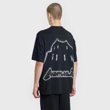 Мужская футболка Marcelo Burlon Ghost House Over Black/Beige фото- 4