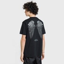 Мужская футболка Marcelo Burlon Heart Wings Black/White фото- 4