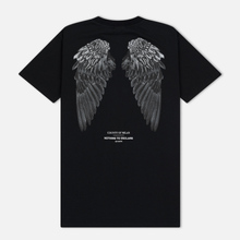 Мужская футболка Marcelo Burlon Heart Wings Black/White фото- 1