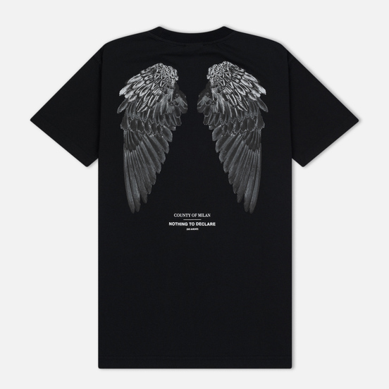 Мужская футболка Marcelo Burlon Heart Wings Black/White