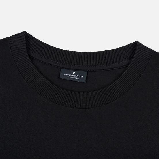 Мужская футболка Marcelo Burlon Logo Black/White