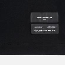 Мужская футболка Marcelo Burlon Logo Black/White фото- 3