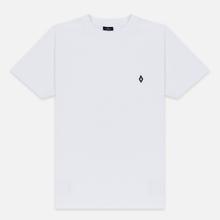 Мужская футболка Marcelo Burlon Logo White/Black фото- 0