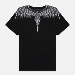 Мужская футболка Marcelo Burlon Sharp Wings Basic Black/White